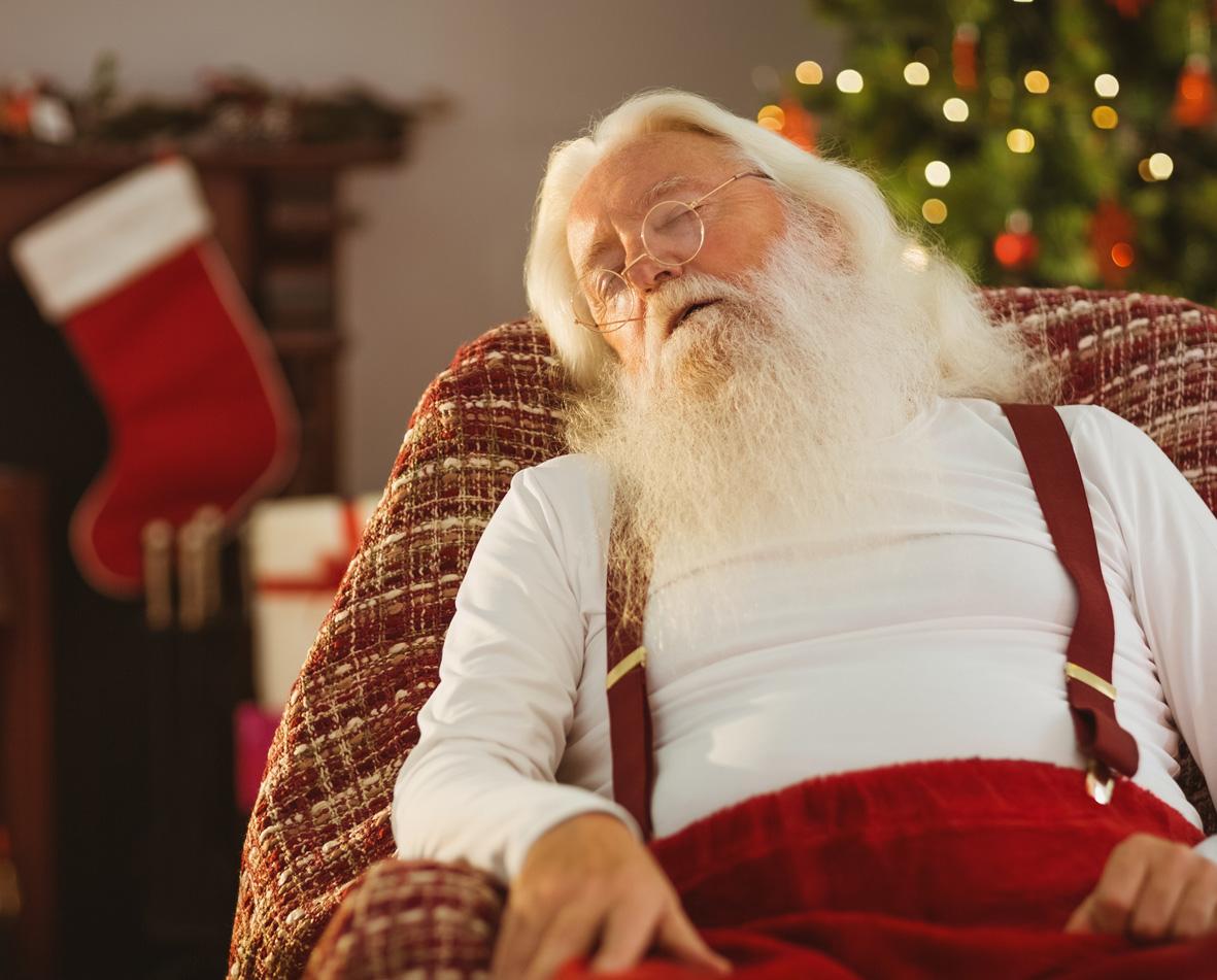 Weihnachtsmann schläft in Arendsee